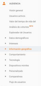 guia de google analytics audiencia