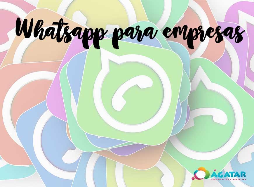 whatsapp para empresas novedades